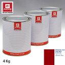 関西ペイント PG80 調色 ゼネラルモータース GX5/466Y BLAZE RED 4kg(原液)