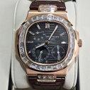 【新同品】Patek Philippe パテックフィリップ ノーチラス アフターダイヤモンド バゲットダイヤモンド 18Kローズゴールド 5724R-001  メンズ 腕時計 watch【送料・代引手数料無料】