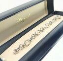【新品】Chopard ショパール HAPPY DIAMONDS  ブレスレット 18Kホワイトゴールド 854551-1001 (18Kホワイトゴールド58.2g)