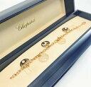【新品】Chopard ショパール HAPPY DIAMONDS  ブレスレット 18Kローズゴールド 856452-5001 (18Kローズゴールド26.5g)