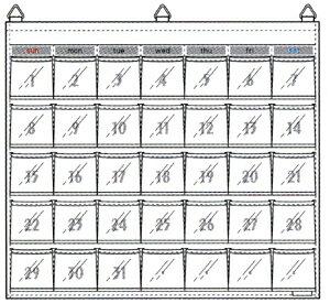 ナビス カレンダーポケット W-418 (8-...の紹介画像2