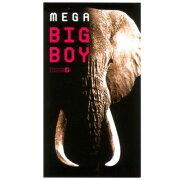 【目隠し梱包】 MEGA BIG BOY メ ガ・ビッグボーイ XL 12個入り オカモト スキン・コンドーム【避妊具】