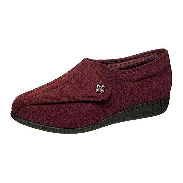 NEW アサヒシューズ 『快歩主義』 L011 マロン(女性用・婦人用) 両足販売【L011】【高齢者用靴・ケアシューズ・軽量・介護用シューズ・リハビリシューズ・クリスマス・お祝い・軽量・リハビリシューズ】【L011】