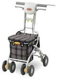 【】【シルバーカー】アロン化成サンフィールS(ショッピング)【親孝行】【高齢者用・ショッピングカート・お買い物カート・手押し車・お散歩カート・キャリーバッグ・キャリーカート・ウォー