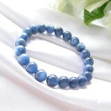【今ついてる価格より20%オフ】パワーストーン  藍色の結晶 カヤナイト AAAブレスレット(高品質)03 パワ−スト−ン 天然石
