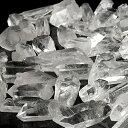 ミニ水晶ポイント 100g パワーストーン 水晶 さざれ石よりも効果あるかも パワ−スト−ン の 充電 浄化 に 浄化石 水晶 人気 アーカンソ..