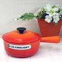 ル・クルーゼ ソースパン 18cm オレンジ (正規日本仕様) ルクルーゼ(Le Creuset)