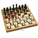 チェス&チェッカーセット No.250