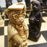 ※!※【親から子へと受け継がれていくテディベア】チェス駒 テディベア A172