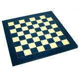 从英国直接进口。手艺人谨慎认真地做完的【SAC制造木制chessboard】chessboard 蓝色[【SAC社製 木製チェスボード】チェスボード ブルー]