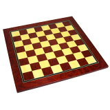 【SAC社製 木製チェスボード】チェスボード レッド
