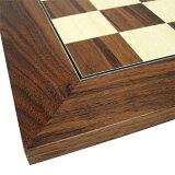 【ボードサイズ:550×550mm】チェスボード カエデ/クルミ H402