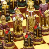 ※!※【チェスで再現されたシェイクスピア戯曲】チェス駒 シェイクスピア A182S 【楽ギフ包装】