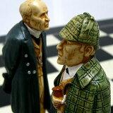 ※!※【盤上での推理対決】チェス駒 シャーロック・ホームズ A163S 【楽ギフ包装】