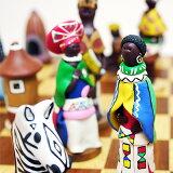 ※!※ハンドメイドチェスセット 『アフリカン・トライブス』