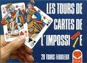 【LES TOURS DE CARTES DE L'IMPOSSIBLE】フランス マジックセット