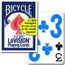 【トランプの最高峰BICYCLE(バイスクル)販売】バイスクル ロービジョン