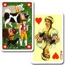 カウ・ハード〜スイスの「牛飼い」が描かれた可愛らしいトランプ♪〜