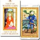 初心者でも安心。当店オリジナルのタロットカードの日本語解説冊子付 世界のタロットカード・オラクルカード販売ミニサイズタロット【TAROT OF WHITE CATS】ミニチュア・ホワイトキャッツ