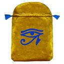 楽天タロット直輸入専門店 ヘリテイジ【タロットバッグ(ポーチ)】ホルス・アイ☆Tarot Bag - Horus' Eye