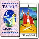世界10ヶ国以上からタロットカードを厳選新商品から絶版品まで多数当店オリジナルの日本語解説書付 世界のタロットカード・オラクルカード販売日本語解説書付 【WINDMILL TAROT 78Cards】ウィンドミル・タロット