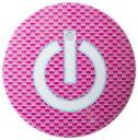 【送料無料】 車 アクセサリー タンク TANK TANK スタートボタンカバー スイッチカーボン柄 ピンク 貼るだけかんたん取付 プッシュ スタート スイッチ カバー Push Start Switch Accessory for TOYOTA スイッチカーボン柄 ピンク TOYOTA 車用