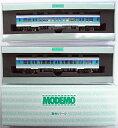 【中古】Nゲージ/MODEMO NK509 通勤形気動車 キハ30「新久留里線色」 2輌セット【A'