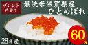 【無洗米】【送料込】