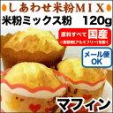 米粉ミックス粉マフィン 120g