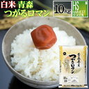 令和元年産 白米 精白米青森県産つがるロマン 10kg
