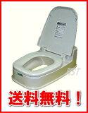 【!】【通常店舗在庫あり!】置くだけで、洋式トイレに早変わりリフォームトイレP型両用式床に段差のあるトイレ用カラー:ホワイト:【RCP】山崎産業 TOKAI20140920【HLSDU】