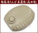 【弥満丈製陶所:正規品】日本製 陶器 湯たんぽ(白色:ホワイト) /正規サイズ高田焼き(美濃焼き)陶器の湯たんぽ:陶器湯たんぽ:02P03Dec16