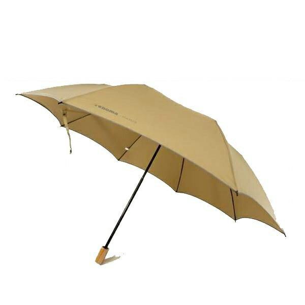 【送料無料】【・同梱】renoma レノマ 二段式 超軽量 折りたたみ傘 ベージュ CMR802H:02P03Dec18 超軽量化を実現した、丈夫な二段式折りたたみ傘です。