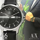 アルマーニ エクスチェンジ 腕時計 アルマーニ 時計 [ ARMANI EXCHANGE ] アルマーニエクスチェンジ メンズ ブラック AX2101 [ 人気 シルバー 白 ]