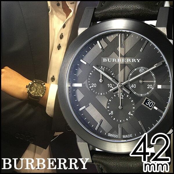 バーバリー 腕時計 メンズ 男性 [ BURBERRY ] 時計 シティ ( The City ) グレー BU9364 [ おすすめ ブランド プレゼント ギフト おしゃれ オシャレ レザー ベルト 革 クロノグラフ ] BURBERRY腕時計 [ バーバリー時計 ] BURBERRY 腕時計 バーバリー 時計 シティ ( The City ) [ 新社会人 卒業祝い 就職祝い 時計 ]