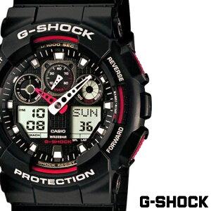 カシオ 腕時計 CASIO 時計 Gショック G-SHOCK ジーショック メンズ ( GA-100-1A4DR ) ハイパーカラーズ [ Hyper Colors おしゃれ 防水 アナログ アナデジ ]