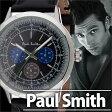ポールスミス 時計 メンズ 男性 [ paul smith ] 腕時計 プレシジョン ( PRECISION ) ブラック/P10001 [革 ベルト/アナログ/クロノグラフ/シルバー] [ クリスマス ]