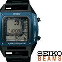 【延長保証対応】セイコー 腕時計 ワイアード 時計 WIRED デジボーグ BEAMSプロデュース BASEL限定モデル メンズ グレー AGAM701 [ メ..