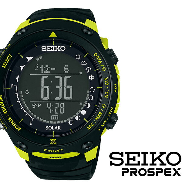 [6/9発売]【5年延長保証】【正規品】 セイコー プロスペックス 腕時計 [ SEIKO PROSPEX 時計 ] メンズ ブラック SBEM005 [ 人気 ブランド 防水 ソーラー シリコン 限定 アウトドア イエロー ] [ 20代 30代 40代 50代 60代 ][ 父の日 ][ 誕生日 ][ ハイブリッドスタイルは各種プレゼント・ギフトに対応いたします! ]