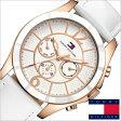 [送料無料]トミーヒルフィガー腕時計[TommyHilfiger時計]( Tommy Hilfiger 腕時計 トミーヒルフィガー 時計 )レザーベルト メンズ/レディース/ホワイト/1781160[TOMMY]