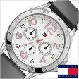 [送料無料]トミーヒルフィガー腕時計[TommyHilfiger時計]( Tommy Hilfiger 腕時計 トミーヒルフィガー 時計 )レザーベルト メンズ/レディース/ホワイト/1781175[TOMMY]