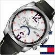 [送料無料]トミーヒルフィガー腕時計[TommyHilfiger時計]( Tommy Hilfiger 腕時計 トミーヒルフィガー 時計 )レザーベルト メンズ/レディース/ホワイト/1790834[TOMMY]