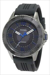 トミーヒルフィガー腕時計[TommyHilfiger時計](TommyHilfiger腕時計トミーヒルフィガー時計)ラバーベルトメンズ/レディース/ブラック/1790836[TOMMY]