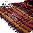 [あす楽対応][送料無料]ヴィヴィアンウエストウッドマフラー [ VivienneWestwoodストール ]( Vivienne Westwood マフラー ヴィヴィアン ウエストウッド ストール ) ( S42 F933 0001 ) メンズ/レディース/男女兼用ストール/[新作 2014 ]