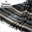 [あす楽対応][送料無料]ヴィヴィアンウエストウッドマフラー [ VivienneWestwoodストール ]( Vivienne Westwood マフラー ヴィヴィアン ウエストウッド ストール ) ( S42 F933 0002 ) メンズ/レディース/男女兼用ストール/[ 新作 2014 ]