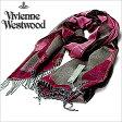 [送料無料]ヴィヴィアンウエストウッドマフラー [ VivienneWestwoodストール ]( Vivienne Westwood マフラー ヴィヴィアン ウエストウッド ストール ) ( S72 F941 0002 ) メンズ/レディース/男女兼用ストール/S72-F941-0002 [ 新作 2012 ] レッド [新生活応援]