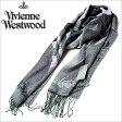 ヴィヴィアンウエストウッドマフラー [ VivienneWestwoodストール ]( Vivienne Westwood マフラー ヴィヴィアン ウエストウッド ストール ) ( S72 F941 0004 ) メンズ/レディース/男女兼用ストール/[ 新作 2014 ]