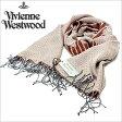 [送料無料]ヴィヴィアンウエストウッドマフラー [ VivienneWestwoodストール ]( Vivienne Westwood マフラー ヴィヴィアン ウエストウッド ストール ) ( S74 F940 0001 ) メンズ/レディース/男女兼用ストール/S74-F940-0001 [ 新作 2012 ] [新生活応援]
