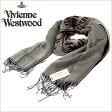 [送料無料]ヴィヴィアンウエストウッドマフラー [ VivienneWestwoodストール ]( Vivienne Westwood マフラー ヴィヴィアン ウエストウッド ストール ) ( S74 F940 0003 ) メンズ/レディース/男女兼用ストール/S74-F940-0003 [ 新作 2012 ]