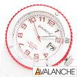 アバランチ腕時計 AVALANCHE時計 AVALANCHE 腕時計 アバランチ 時計 アヴァランチ ポップ44 POP-44 メンズ/ホワイト AV-1019S-WR-44 [カラフル スポーツ カジュアル][生活 防水][10800円以上 送料無料][プレゼント/ギフト/祝い][新生活]